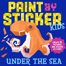 PAINT BY STICKER FOR KIDS UNDER THE SEAL